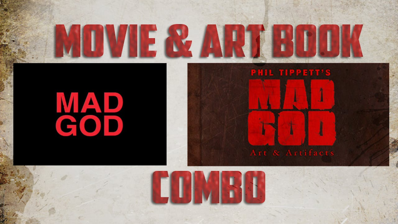 MAD GOD Movie & Art Book Combo