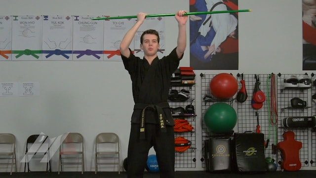 Jackson Rudolph - Seated Over Head Strike Drill