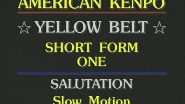 Mohamad Tabatabai - Yellow Belt Short...