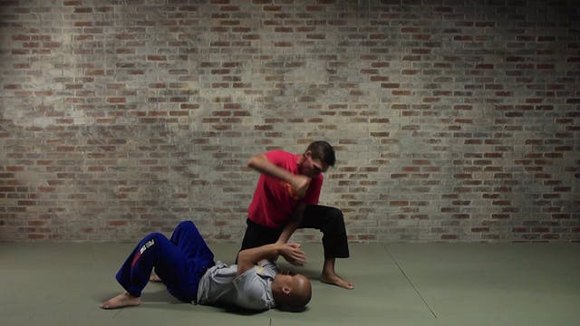 Silat Ground Fighting: Squat/Kneel Strikes