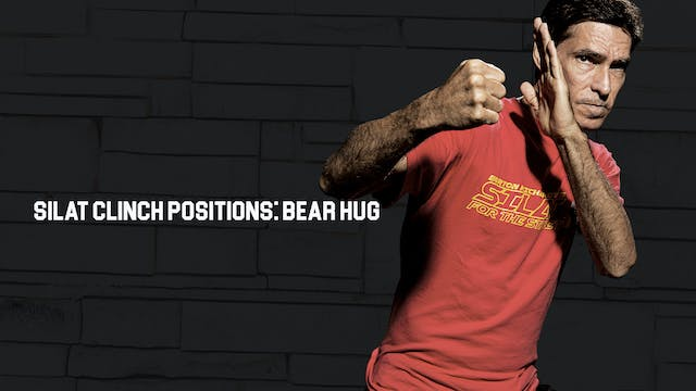 Silat Clinch Positions: Bear Hug