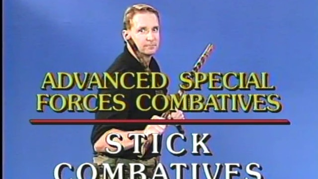 James Webb - Stick Combatives