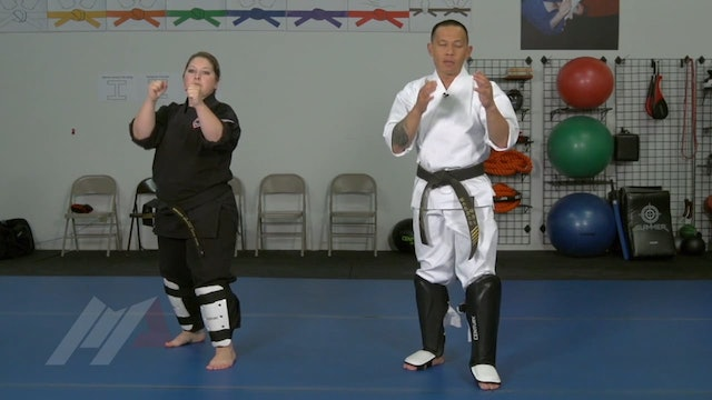 Ernie Reyes Jr. - Leg Checking Drill with Partner