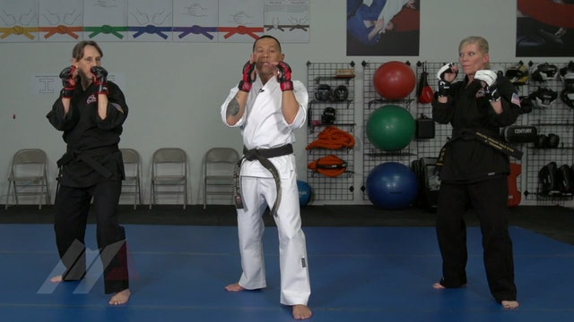 Ernie Reyes Jr. - Up, Over, and Across Drill with Elbows