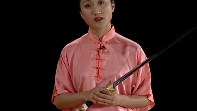 Tai Chi with Straight Sword