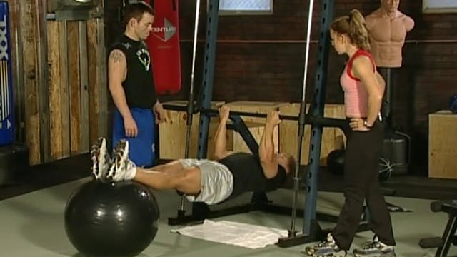 Jens Pulver - Lifting and Balance