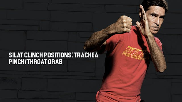 Silat Clinch Positions: Trachea Pinch...