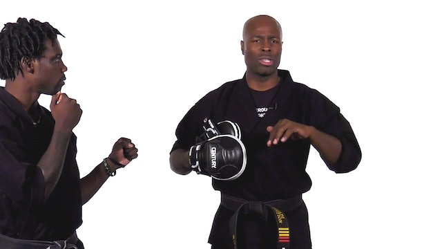 Jadi Tention - Hook Round Kick Progression - Part 2