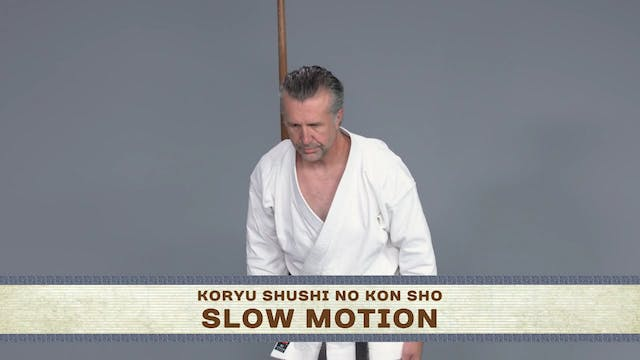 Koryu Shushi No Kon Sho: Normal Speed, Instructional, Slow Motion