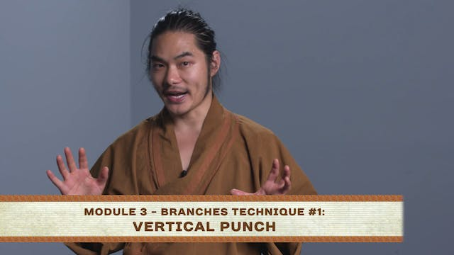 Branches Technique #1: Vertical Punch