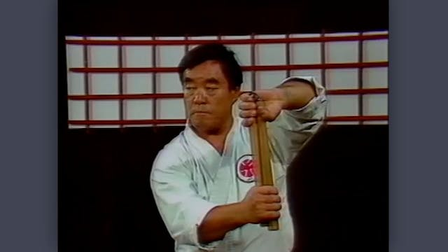 Nunchaku: Classic Fumio Demura Kobudo Video Review: Blocking
