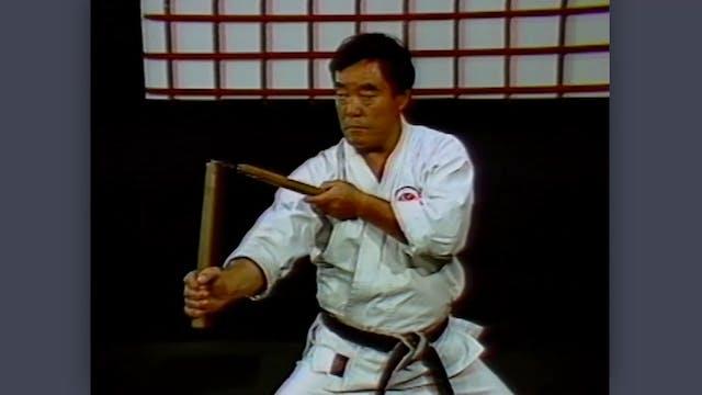Nunchaku: Classic Fumio Demura Kobudo Video Postures