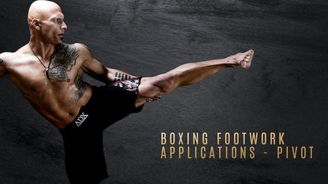 Boxing Footwork Applications - Pivot