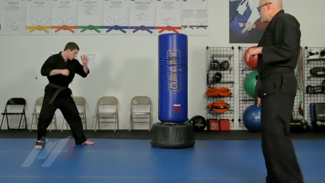 John Hackleman - 2 Head Kicks and a Backdrop