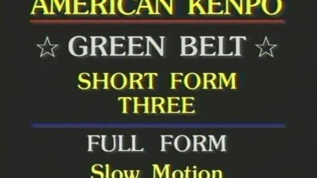 Mohamad Tabatabai - Green Belt Short ...
