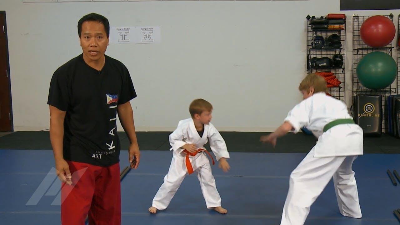 Michael Kramp Zombie Kids Drills Martial Arts Drills