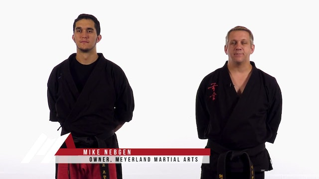 Mike Nebgen - Prearranged Sparring Drill