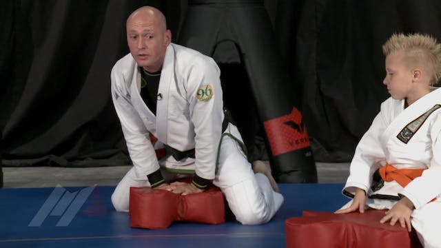 Randy Stacey - 123 Pop Up Arm Bar Drill