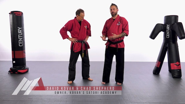 Dave Kovar - Beginner Double Leg Takedown