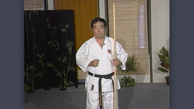 Bo: Classic Fumio Demura Kobudo Video: Basics of the Bo