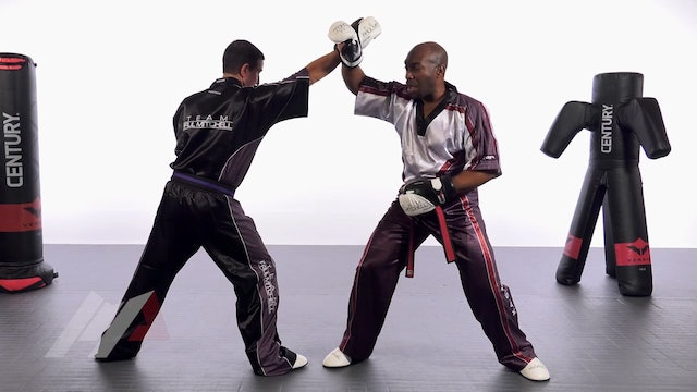 Damon Gilbert - Wrist Grab Backfist Drill