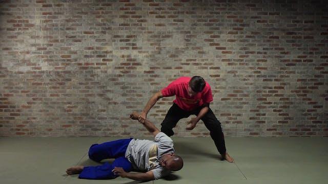 Silat Ground Fighting: Arm/Wrist/Finger Breaks
