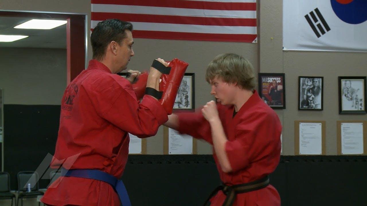 Michael Kramp Hard Target Sparring Drills Martial Arts Drills