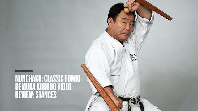 Nunchaku: Classic Fumio Demura Kobudo Video Review: Stances