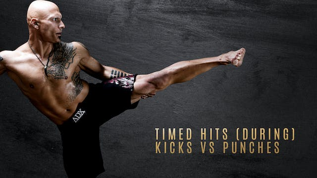 Timed Hits (During) - Kicks vs Punches