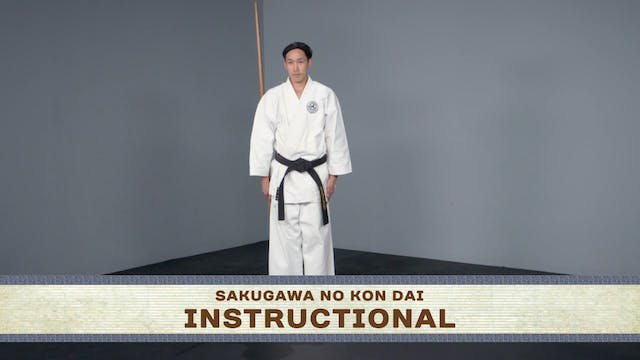Sakugawa No Kon Dai: Normal Speed, Instructional, Slow Motion