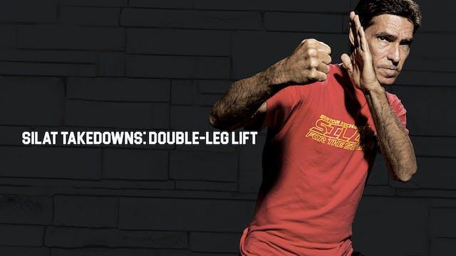 Silat Takedowns: Double-Leg Lift