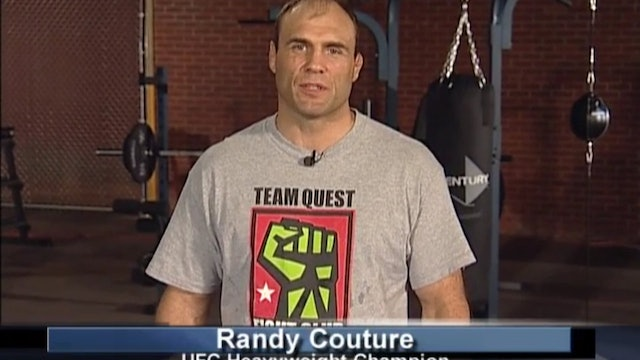 Randy Couture - Fight Clinic