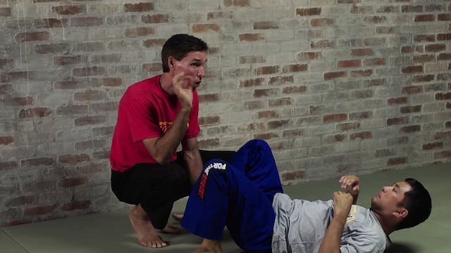 Silat Ground Fighting: In the Guard