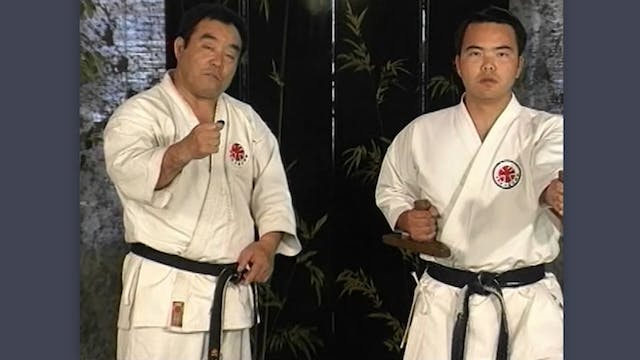 Tonfa: Classic Fumio Demura Kobudo Video Combinations