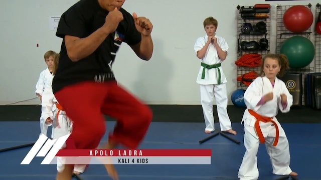 Apolo Ladra - Kali for Kids Jumping Drills