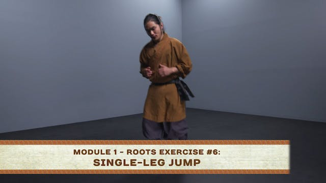 Roots Exercise #6: Single-Leg Jump