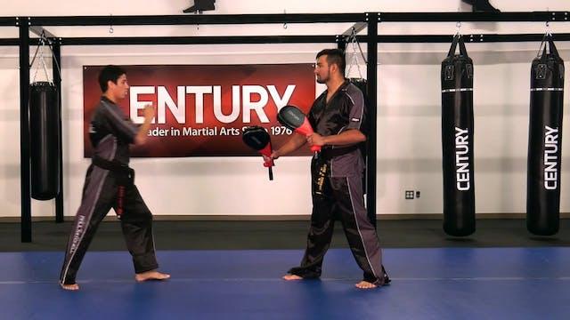 Justin Ortiz - Round Kick Warm Up