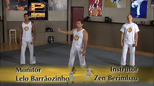 Mestre Barrao - Advanced Level Training