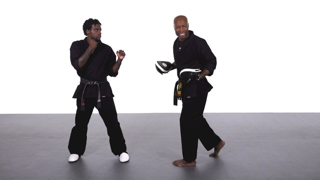 Jadi Tention - Hook Round Kick Progression - Part 5