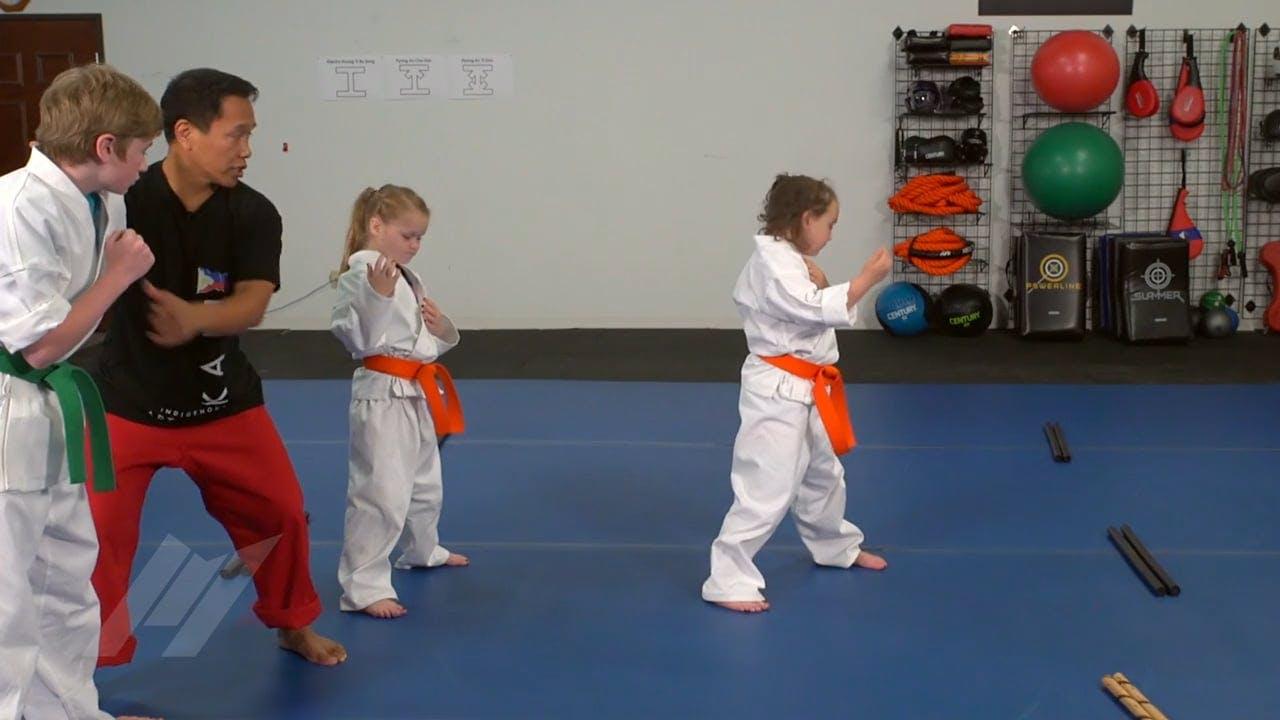 Michael Kramp Dont Crowd Me Kids Drills Martial Arts Drills