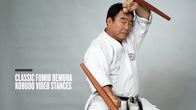 Classic Fumio Demura Kobudo Video Stances