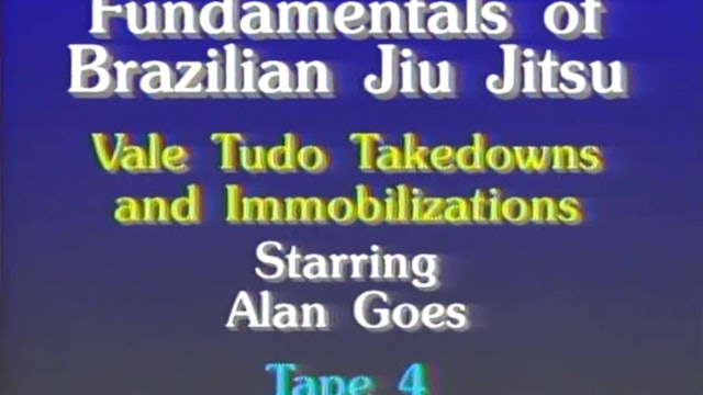 Allan Goes - Vale Tudo Takedowns and Immobilizations