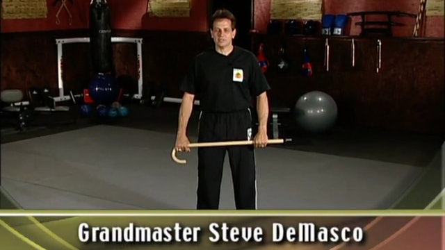 Steve Demasco - Shaolin Cane and Kubotan Weapons