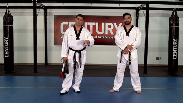 Herb Perez - Front Leg - Back Leg Round Kick Drill