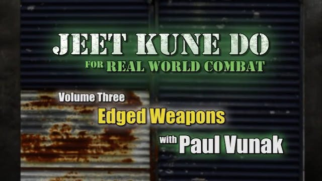 Paul Vunak - Edged Weapons