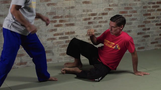 Low Takedowns: Knee-Lever Sweep