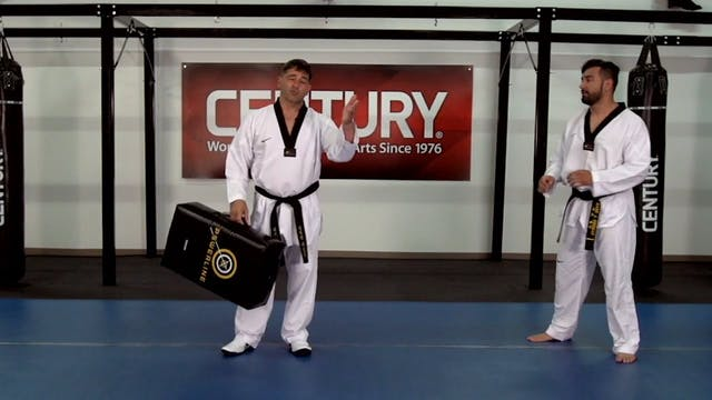 Herb Perez - Distance Drills - Back Kick