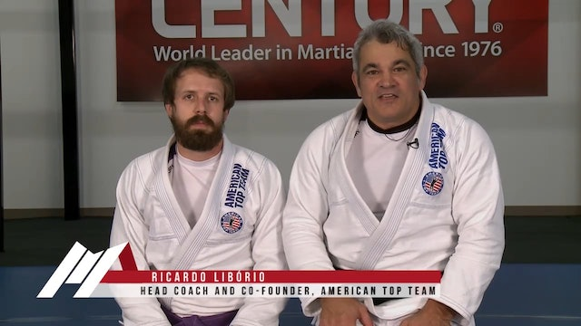 Ricardo Liborio - Overhook Cross Collar Choke