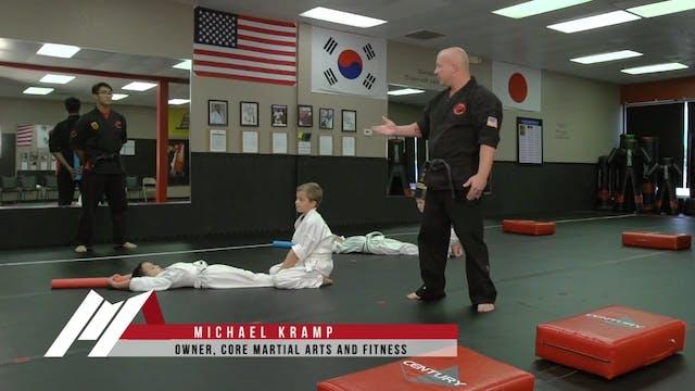 Michael Kramp - Light Saber Sit Ups