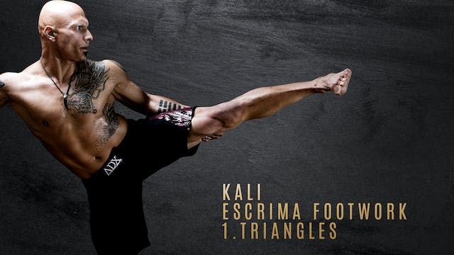 Kali-Escrima Footwork 1. Triangles